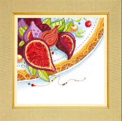 Oriental colors. Figs | Needlepoint Kits