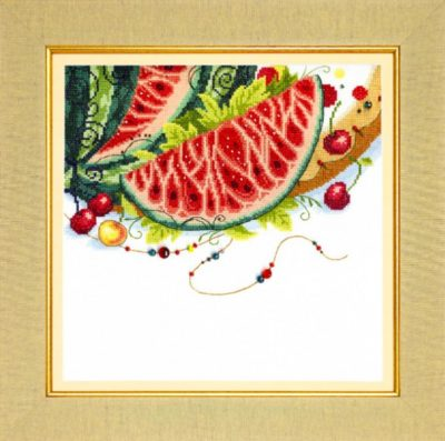 Oriental colors. Watermelon | Needlepoint Kits