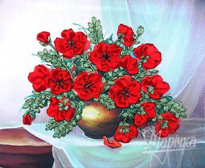 Bright poppies | Needlepoint Kits