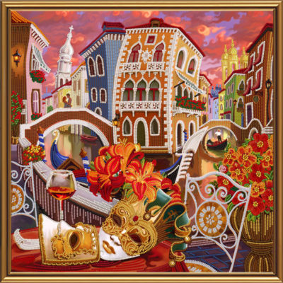 Venice, Through the Looking Glass | Needlepoint Kits