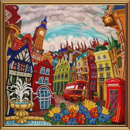 London, Through the Looking Glass | Needlepoint Kits
