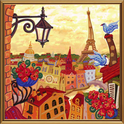 Paris, Through the Looking Glass | Needlepoint Kits