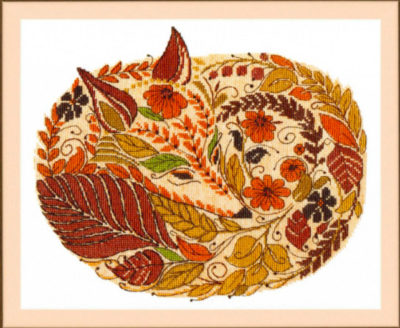 Autumn Fox | Needlepoint Kits