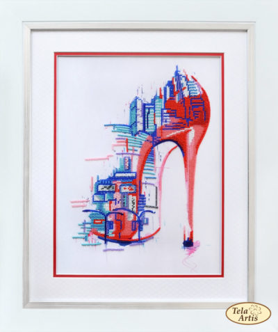 Big city with heels | Needlepoint Kits