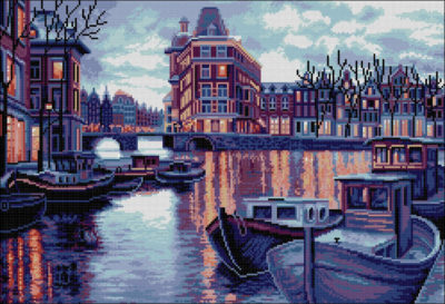Twilight Amsterdam | Needlepoint Kits