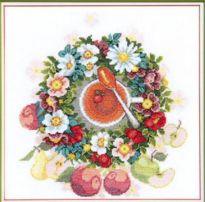 Flowers wreath | Needlepoint Kits