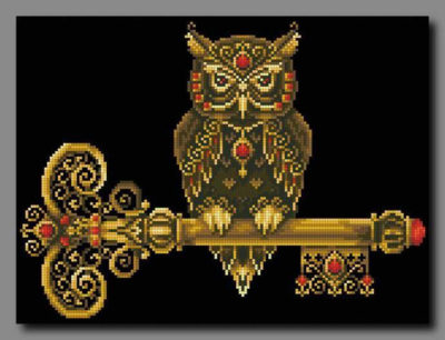 Key of wisdom | Needlepoint Kits