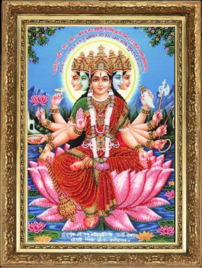Gayatri Hindu Goddess | Needlepoint Kits