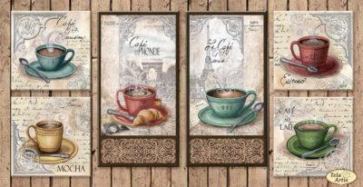 Coffee in Paris Collection | Needlepoint Kits