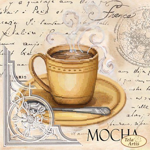Coffee in Paris. Mocha | Needlepoint Kits