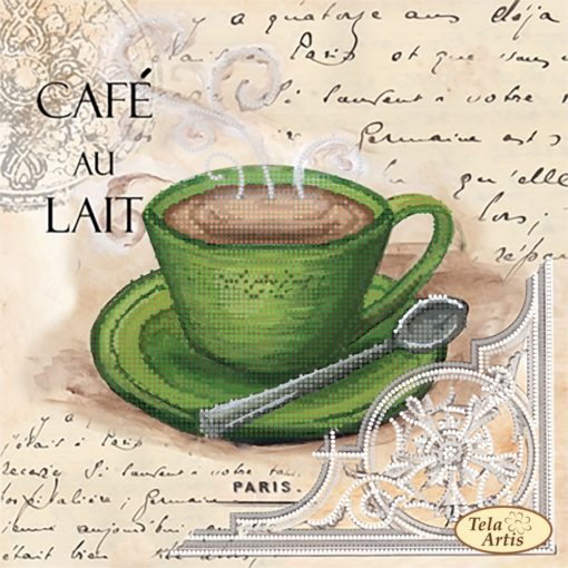 Coffee in Paris. Coffee with milk | Needlepoint Kits