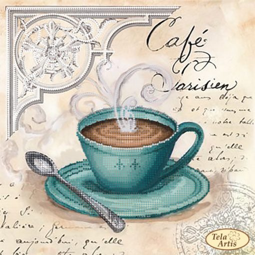 Coffee in Paris. French cafe | Needlepoint Kits