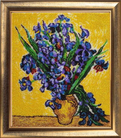 Irises (by the painting by Vincent Van Gogh) | Needlepoint Kits