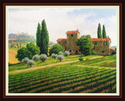 Vineyards | Needlepoint Kits