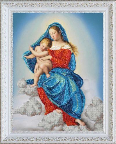 Virgin Mary with the baby | Needlepoint Kits