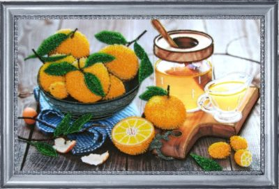 Still life with citrus | Needlepoint Kits