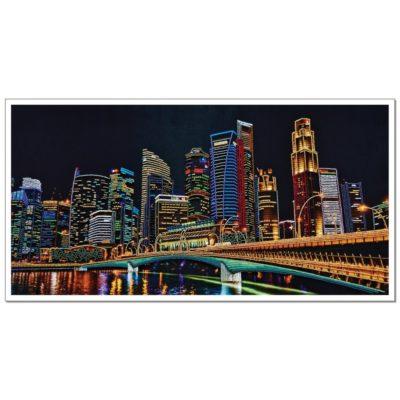 Night city | Needlepoint Kits