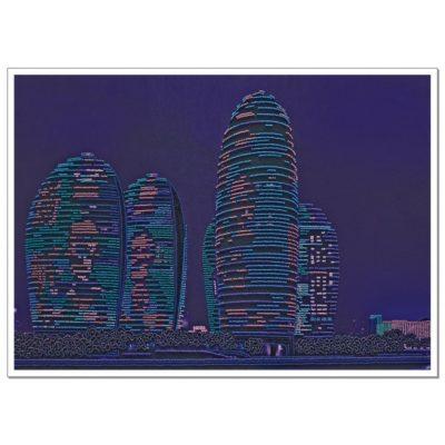 Skyscrapers | Needlepoint Kits
