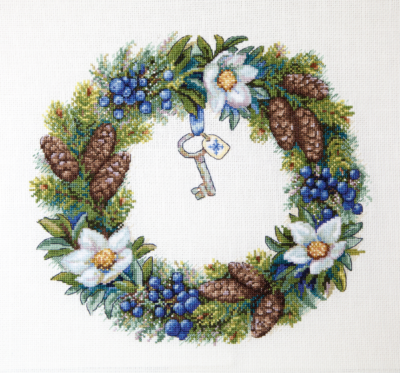 Winter wreath | Needlepoint Kits