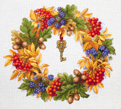 Autumn wreath | Needlepoint Kits