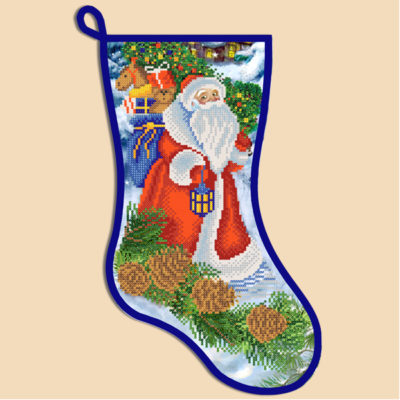 Christmas stocking kit Angel | Needlepoint Kits