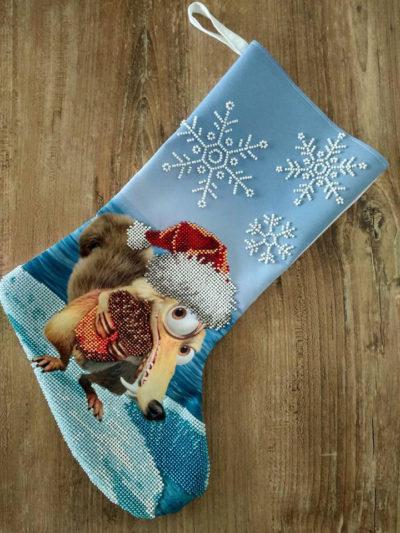 Christmas stocking kit Ice Age | Needlepoint Kits
