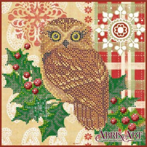 Christmas owl | Needlepoint Kits