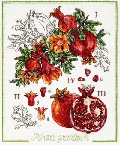 Granat botanique | Needlepoint Kits