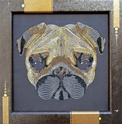 Golden pug | Needlepoint Kits