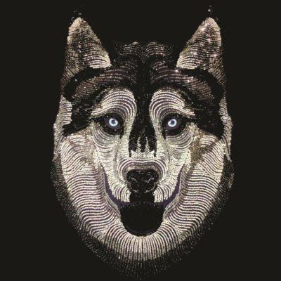Silver husky | Needlepoint Kits
