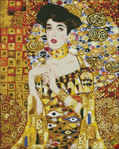Golden Adele (by Gustav Klimt) | Needlepoint Kits