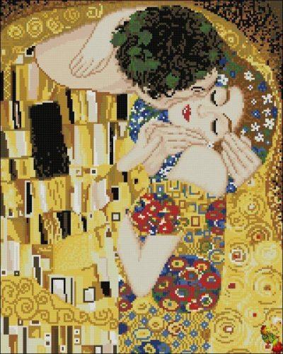 The Kiss (by Gustav Klimt) | Needlepoint Kits