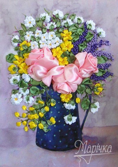 Bouquet in a jug | Needlepoint Kits