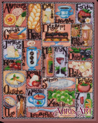 Gourmet alphabet | Needlepoint Kits