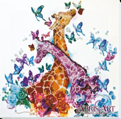 Spotty giraffes | Needlepoint Kits