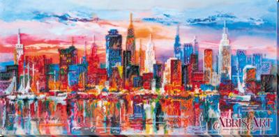 Evening city | Needlepoint Kits