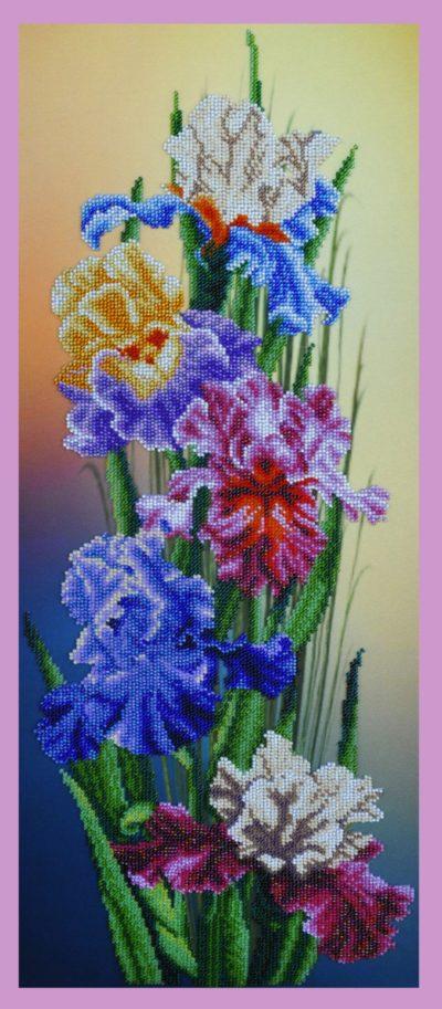 Irises | Needlepoint Kits