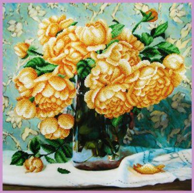 Still-life with roses | Needlepoint Kits