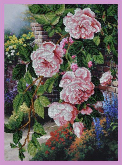 Flowers in the garden | Needlepoint Kits