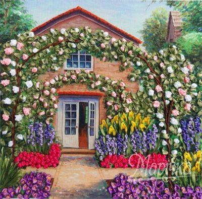 Rose garden | Needlepoint Kits