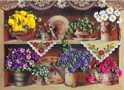 Grandma's Flowers | Needlepoint Kits