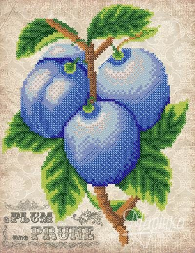 Vintage. Plums | Needlepoint Kits