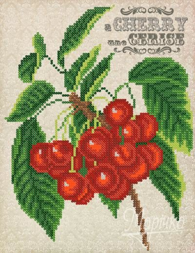 Vintage.Cherry | Needlepoint Kits