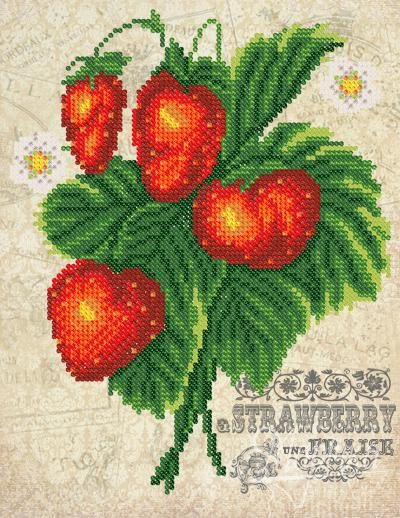 Vintage. Strawberry | Needlepoint Kits