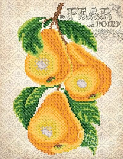 Vintage. Pears | Needlepoint Kits