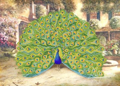 Bright Peacock | Needlepoint Kits