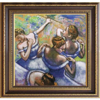 The Blue Dancers (by Edgar Degas) | Needlepoint Kits