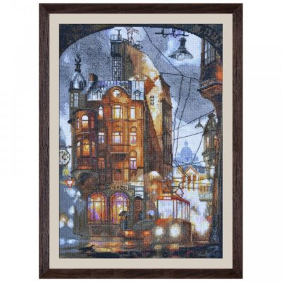 Night city | Needlepoint Kits