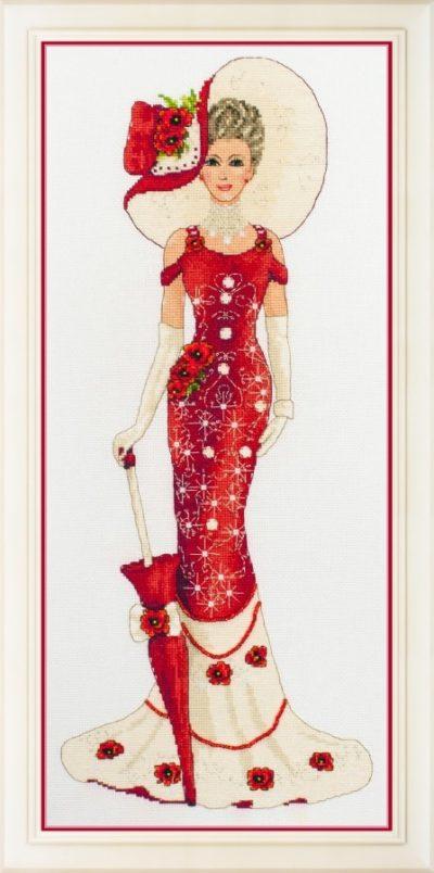 Victorian lady | Needlepoint Kits