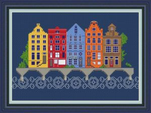 European town | Needlepoint Kits